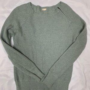 J. Crew zip collar pullover sweater